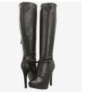 Nine West Ivanbella knee high sexy boots 7.5